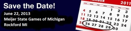 Save The Date State Games of Michigan