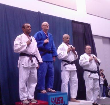 Sensei Paul Jordan, Gold Medalist -90 kg. M5