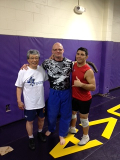Flores Clinics Draw A Crowd Judoka And Wrestlers Konan Judo