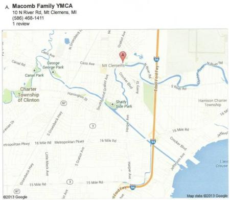 Macomb Y Map