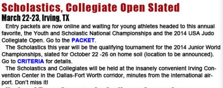 2014 Scholastics & Collegiate Championships