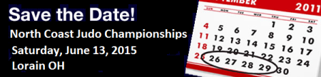 Save The Date 2015 North Coast Judo