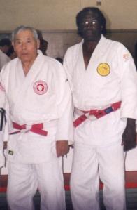 Dr. Ashida with Sensei Bonner